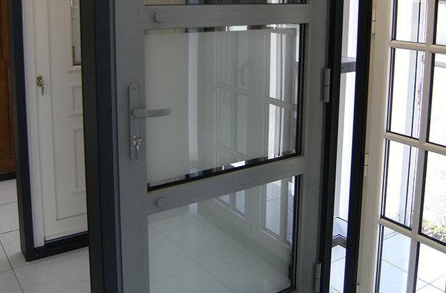 Portes d 39 entr e verre clair - Porte entree verre ...