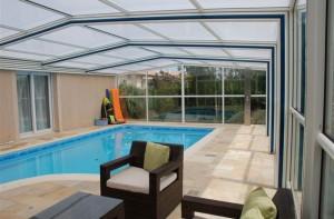 Pose couverture de piscine dans l'Oise
