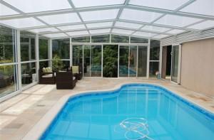 Pose couverture de piscine dans le Val d'Oise