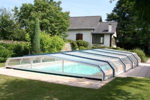 abris de piscine vert