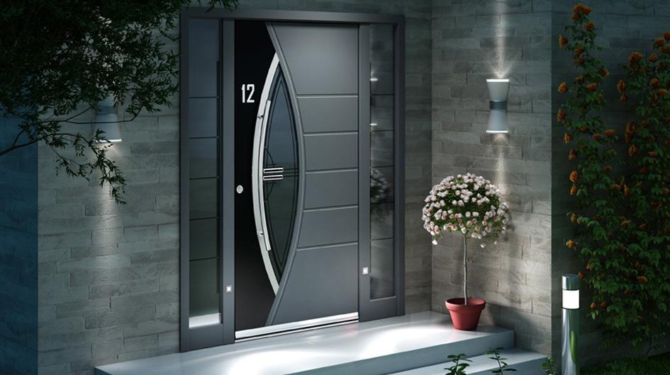 quel mat riau pour ma porte d 39 entr e. Black Bedroom Furniture Sets. Home Design Ideas