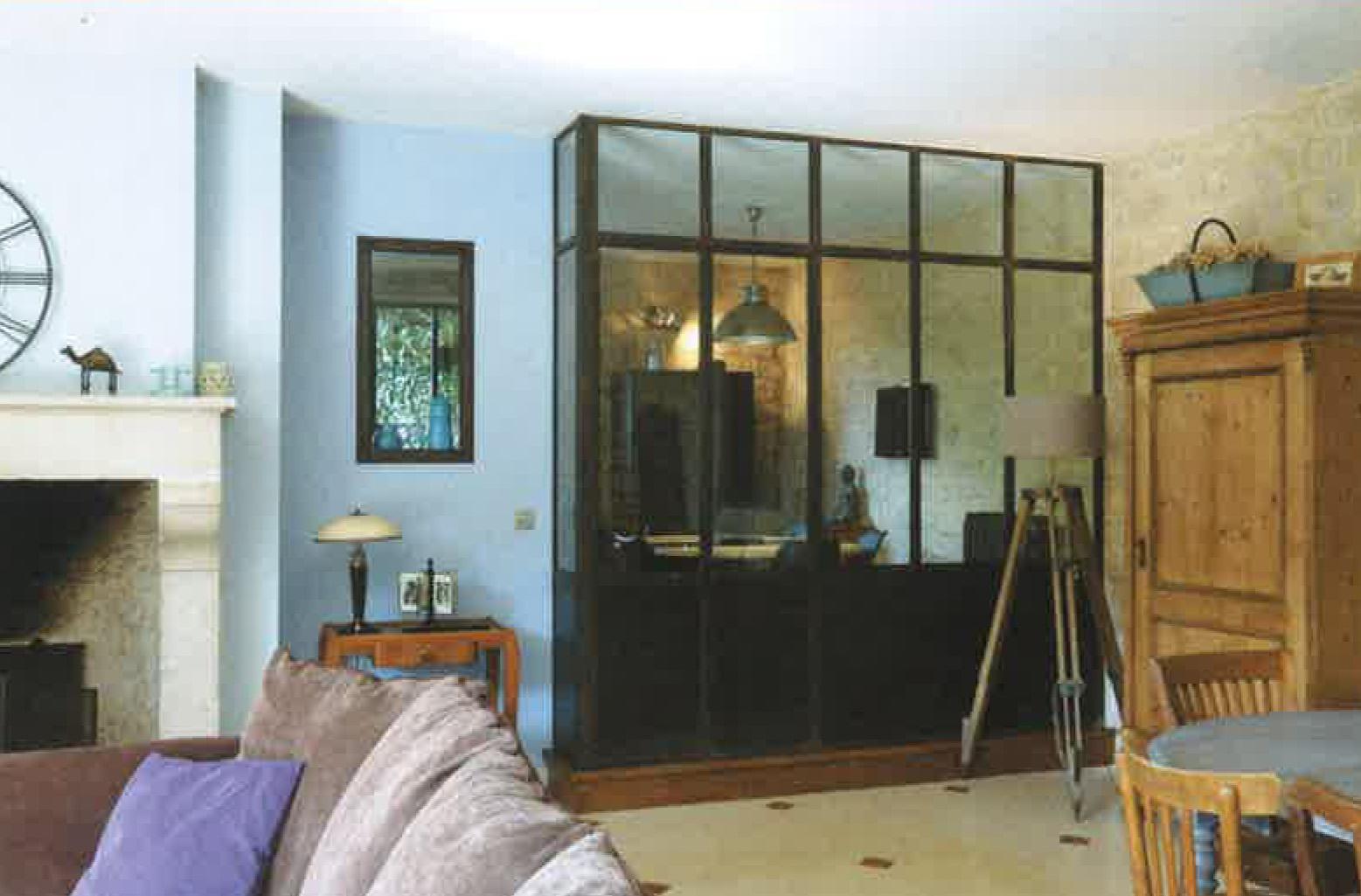 Verre Clair Saint Maximin une verrière dans votre maison - verre clair